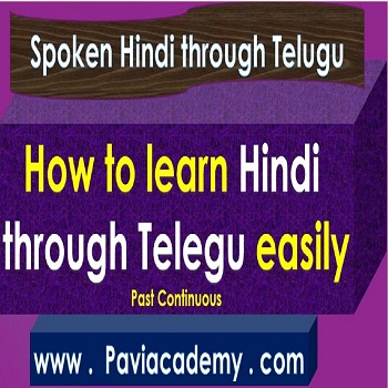 How to learn Hindi through Telugu easily – తెలుగు వివరణతో – హిందీ వ్యాకరణము అన్ని తరగతుల పరీక్షలకు – అన్ని పోటీ పరీక్షలకు paviacademy.com ద్వారా నేర్చుకొండి